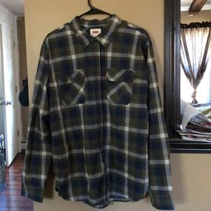 Levis button down shirt * new without tags*